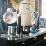 宮古島レストラン喫茶トニオのコーヒー器具