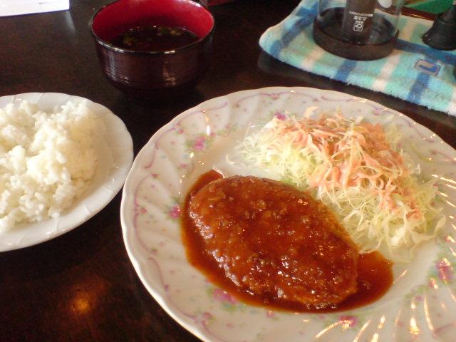 宮古島レストラン喫茶トニオのハンバーグ